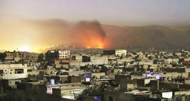 الاشتباكات تتواصل بين المعارضة ونظام الأسد بدعم روسي ايراني في جبل تركمان