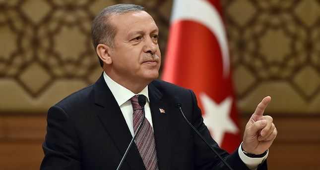 أردوغان: من حق تركيا الدفاع عن أراضيها وعلى الجميع احترام ذلك