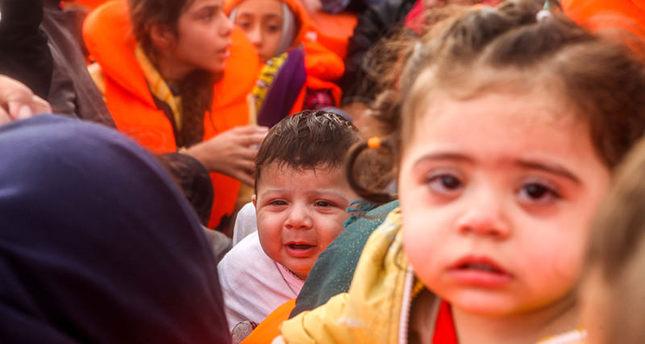 مقتل ستة أطفال في غرق قوارب متوجهة الى اليونان