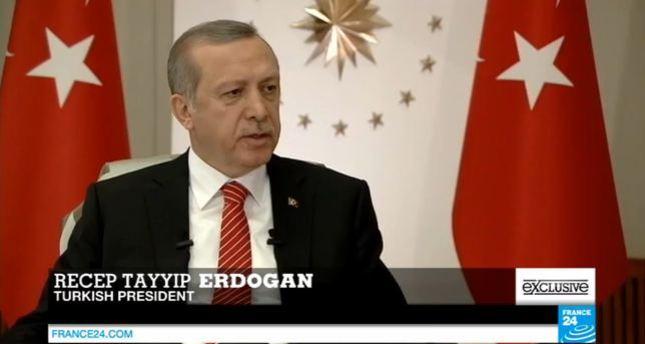 أردوغان: روسيا وإيران تدعمان نظام الأسد بدلاً من محاربة داعش