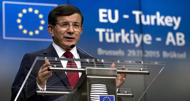 تركيا والاتحاد الاوروبي يصلان لاتفاق يشمل إعادة قبول اللاجئين ورفع فيزا الشينغن