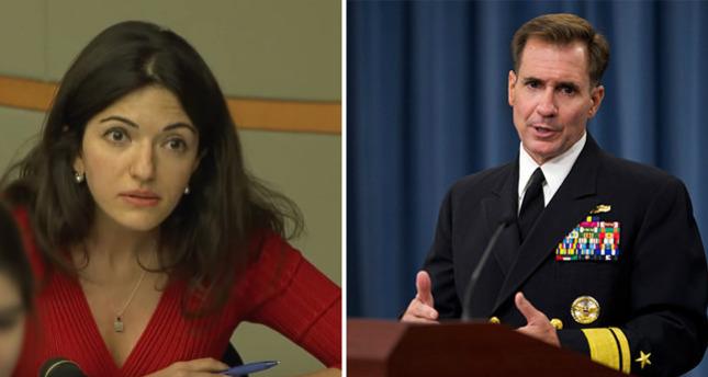 جدل ساخن يثور في مؤتمر الخارجية الامريكية بسبب سؤال صحفية روسيا اليوم
