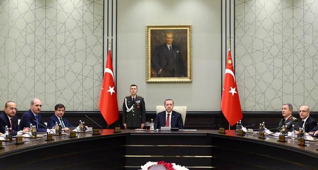 اجتماع مجلس الأمن القومي التركي  (وكالة دوغان للأنباء)