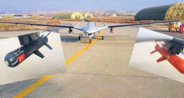 تركيا تنجح في تزويد طائرات بدون طيار  محلية الصنع بصواريخ مضادة للدبابات