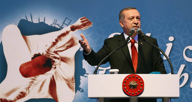 أردوغان: الحرب على الارهاب في سوريا مسرحية تمثيلية
