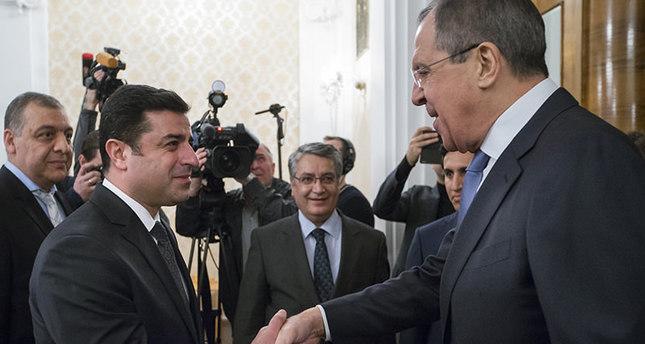 ديميرتاش يلتقي لافرورف في موسكو رغم الاجماع التركي على رفض الزيارة