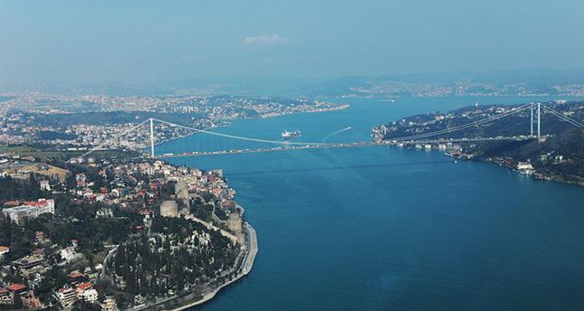 تركيا تنشئ أول خط تلفريك يصل أوروبا واسيا على طول مضيق البسفور