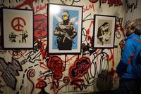 Eine Kollektion von 100 Werken vom britischen Künstler Banksy hatte am Dienstag ihre Weltpremiere in Istanbul. Die Ausstellung ist bis zum 29. Februar zu sehen.  Global Karaköy, eine neue Galerie...