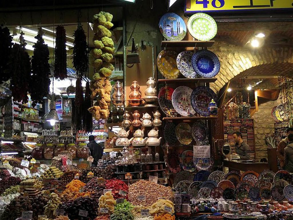 Top 10 bazaars around Turkey