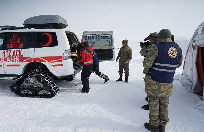 Turkish military conducts Winter 2017 exercises