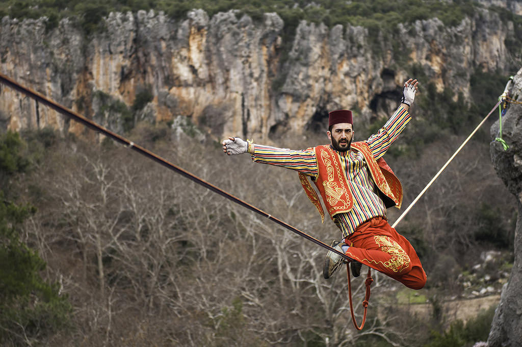 Walk a line in the sky: Turkish Highline Carnival 2017