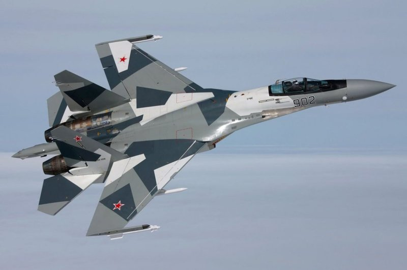 Russian SU-35 Warplane.