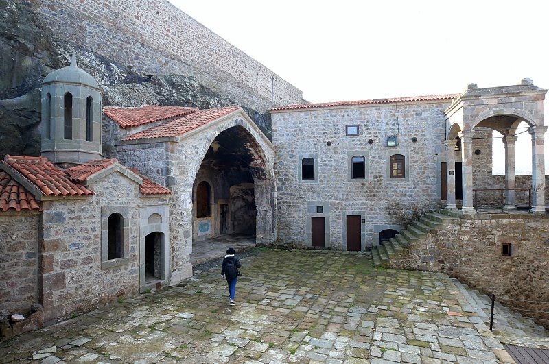 Restored elaborately, the Kızlar Monastery will be the haunt of cultural events soon. (AA Photo)