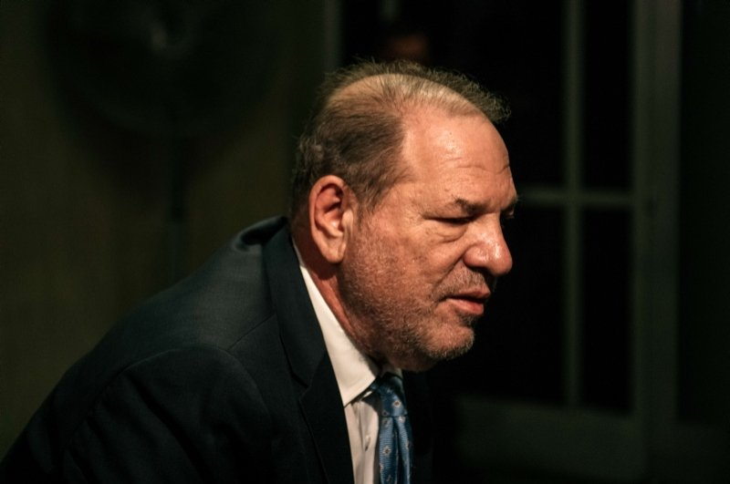 Movie producer Harvey Weinstein enters New York City Criminal Court on Feb. 24, 2020 in New York City. (AFP Photo)