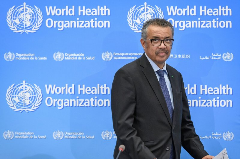 World Health Organization (WHO) Director-General Tedros Adhanom Ghebreyesus holds a news conference on the situation regarding the COVID-19 at Geneva's WHO headquarters on Feb. 24, 2020. (AFP Photo)