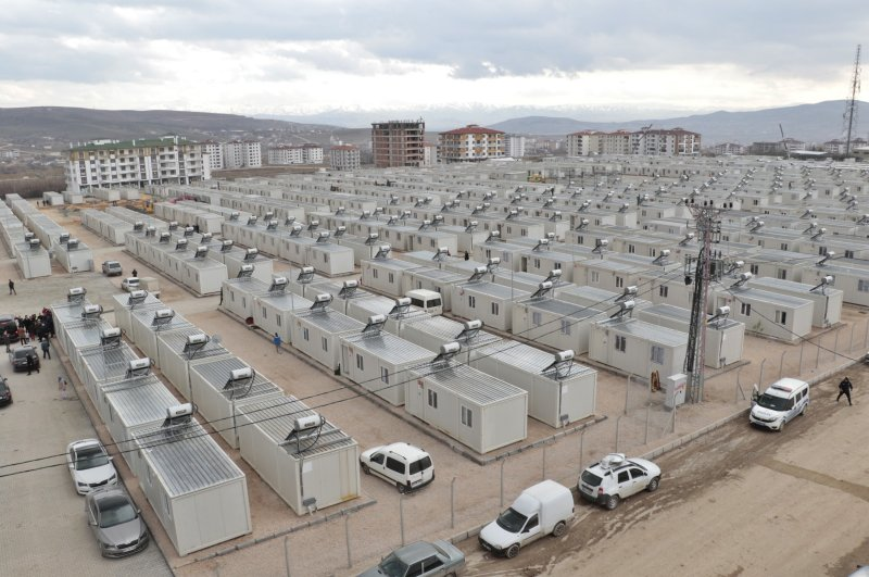 Some 500 survivors moved in to the prefabricated units over the past few days. (DHA Photo)