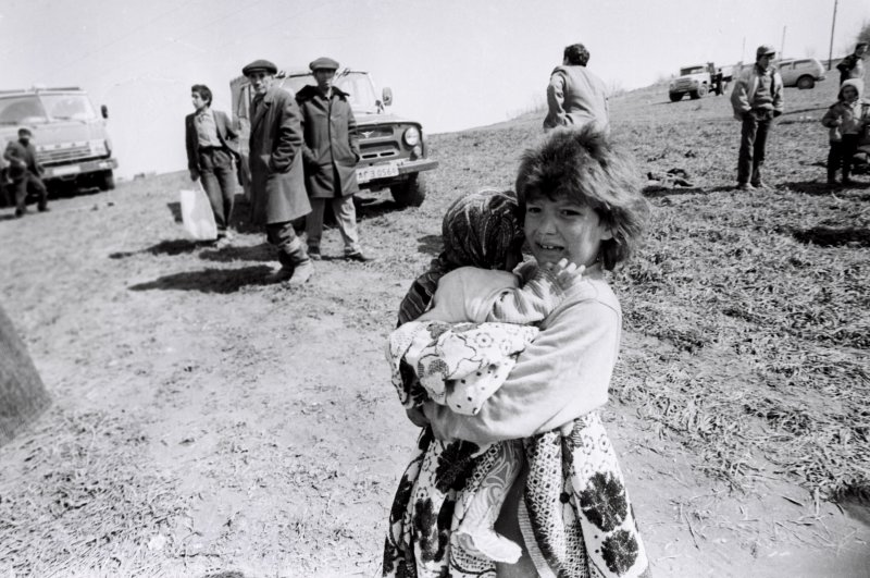 On Feb. 25-25, 1992, 613 civilians were killed by Armenian soldiers in Khojaly, a strategically important village with the only airport in the disputed Nagorno-Karabakh region of Azerbaijan, originally inhabited by 7,000 people. (AA PHOTO)