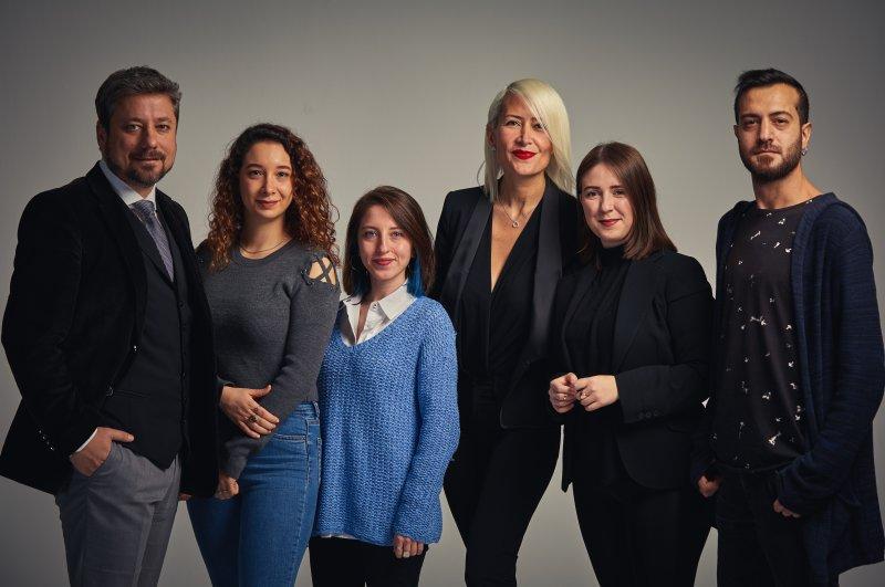 The organization behind Shenema, from left to right, Haydar Satıl, Saba Mengi, Berfin Demirat, Asu Sanem Kaya, Betül Günay and Bırazer Seydan. (Photos courtesy of Shenema)