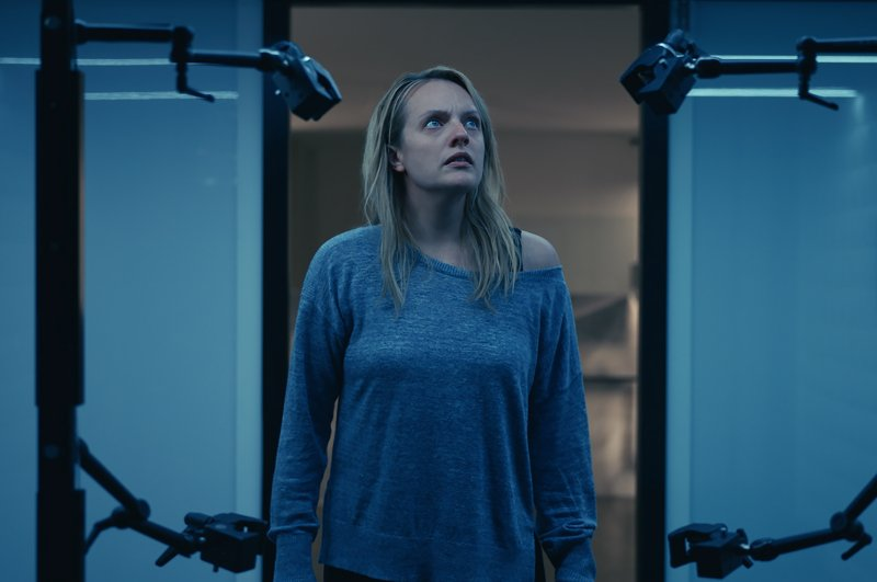 """This image released by Universal Pictures shows Elisabeth Moss in a scene from """"The Invisible Man."""" (AP Photo)"""