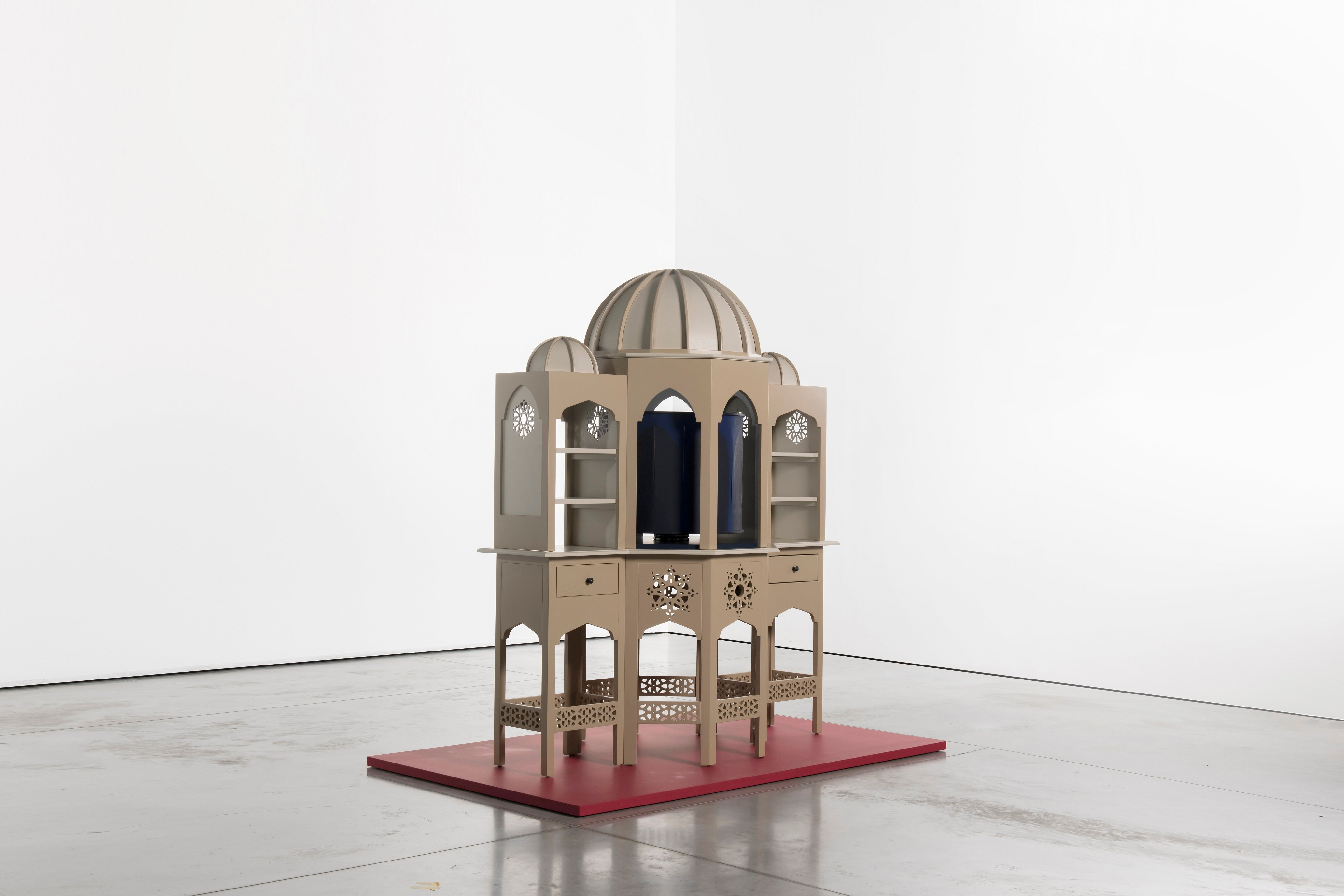 Randi & Katrine's Turkish bath model, 205x170x90 cm. (Courtesy of Istanbul Modern)