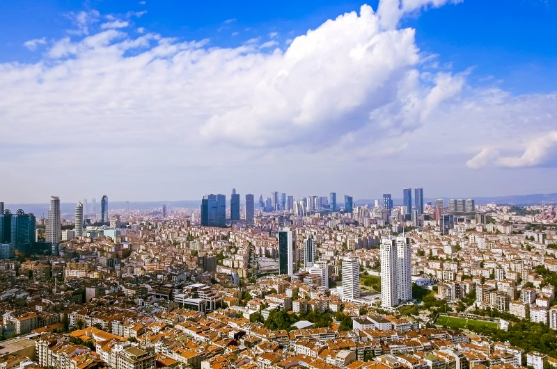 In this undated photo, skyscrapers are seen in Istanbul, Turkey's financial capital. (iStock Photo)