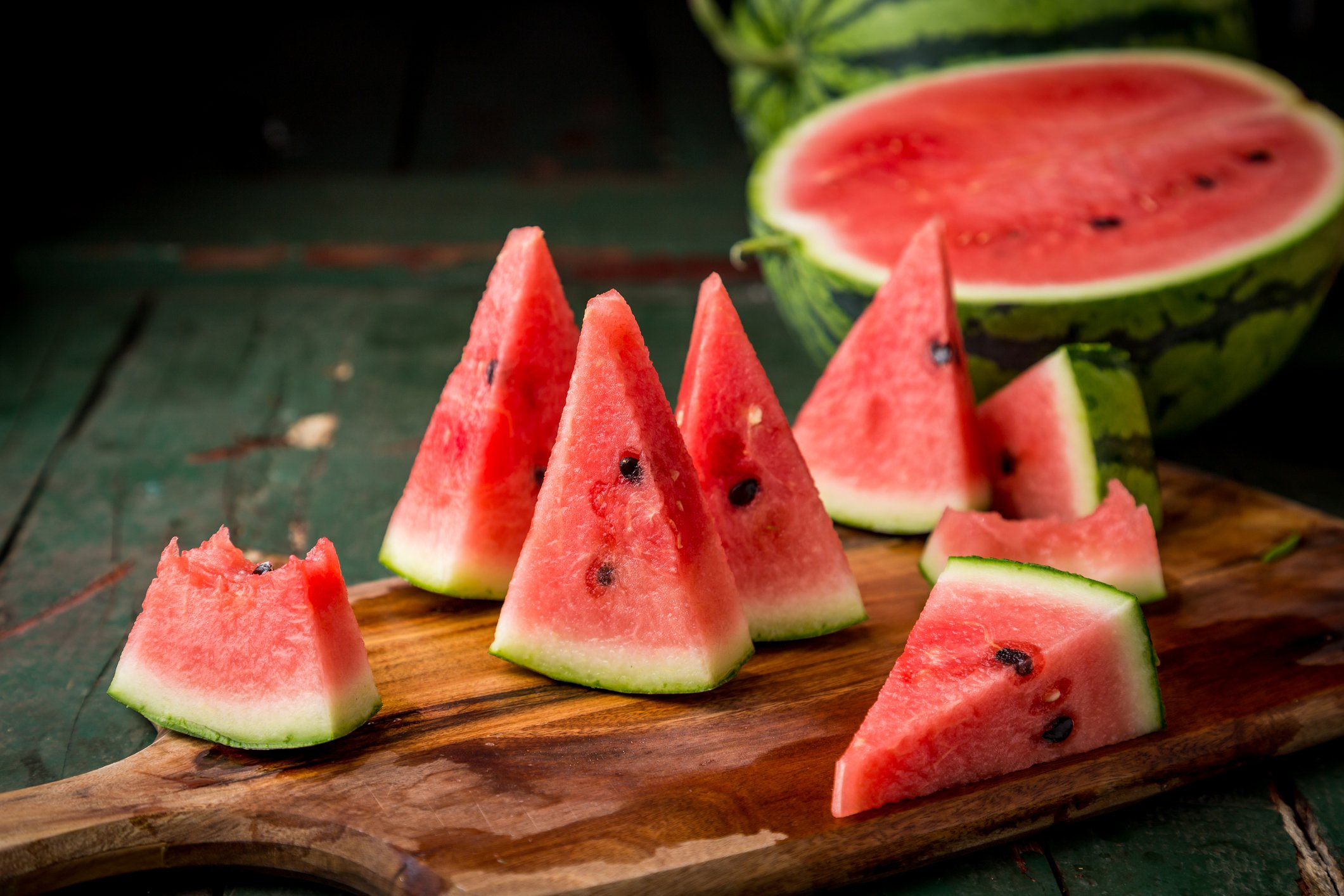 Reduce your food waste and turn watermelon rinds into a sweet and aromatic dessert. (iStock Photo)