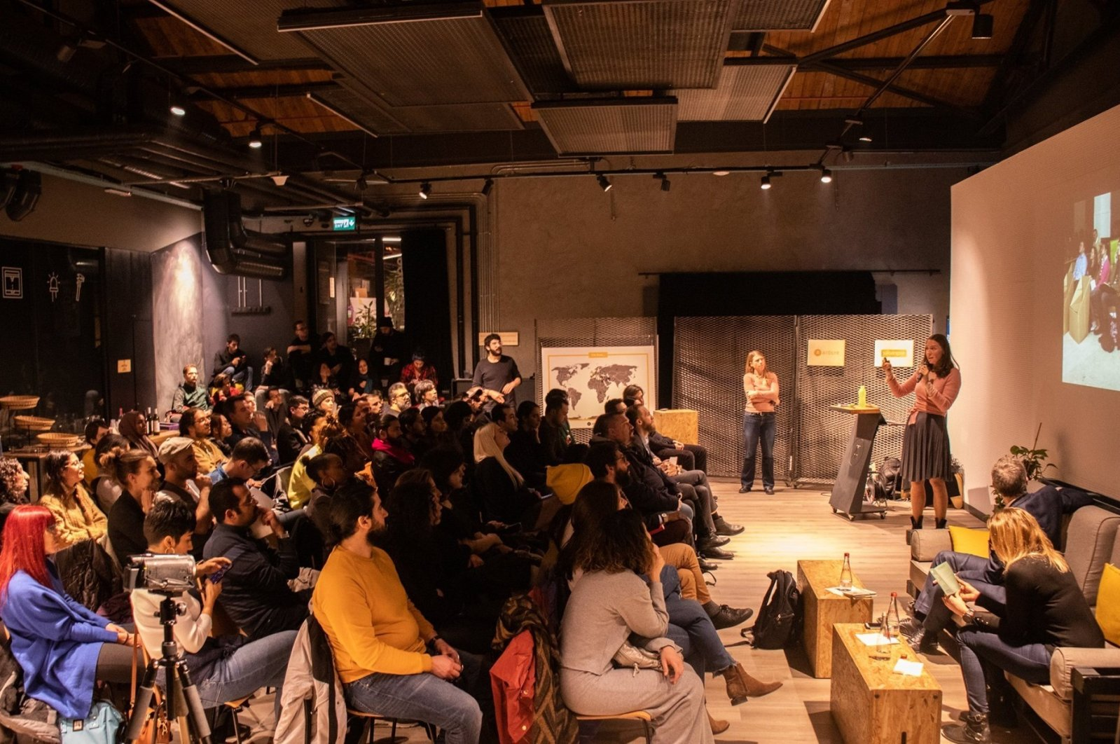 Expat Spotlight (pictured) is a talk series showcasing the contributions made by expats to the city's cultural, humanitarian or business fabric. (Photo courtesy of Yabangee)