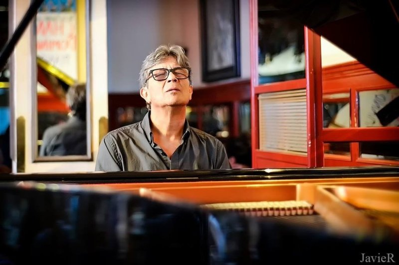 Chano Dominguez has blended jazz and flamenco througout his 40-year musical career. (Courtesy of CRR Concert Hall)
