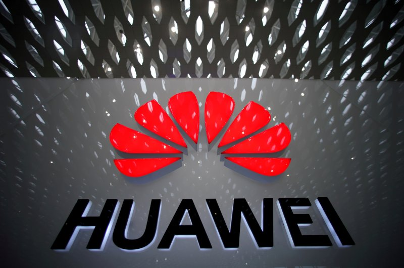 A Huawei company logo is pictured at the Shenzhen International Airport in Shenzhen, Guangdong province, China, July 22, 2019. (Reuters Photo)