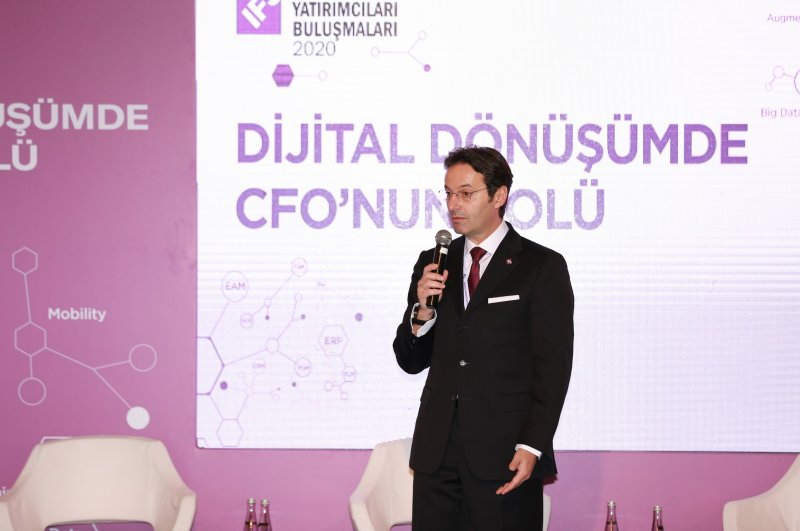 IFS Global High Potential Markets Chairman Zoran Radumilo speaks at a summit held in Istanbul on Feb. 20, 2020. (Photo courtesy of TCC Plus )
