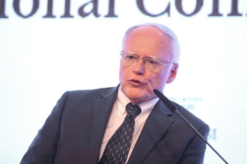 The U.S. special envoy for Syria James Jeffrey speaks in International Idlib Conference in Istanbul, March 3, 2020. (AA Photo)