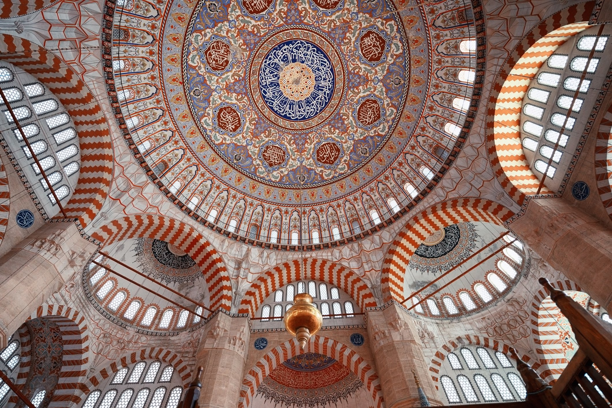 The Selimiye Mosque was designed and built by famous Ottoman architect Mimar Sinan. (iStock Photo)