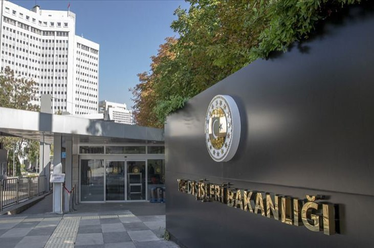 The Turkish Ministry of Foreign Affairs in Ankara. (File Photo)