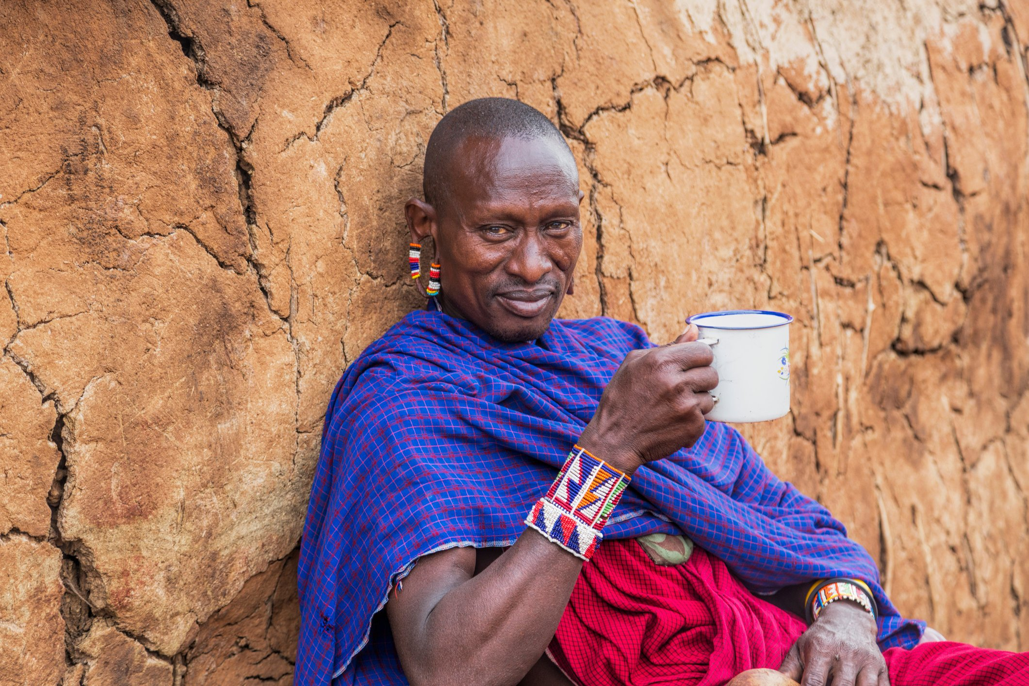 Maasai people don't start off their day properly until they have had a hot cup of tea. (iStock Photo)