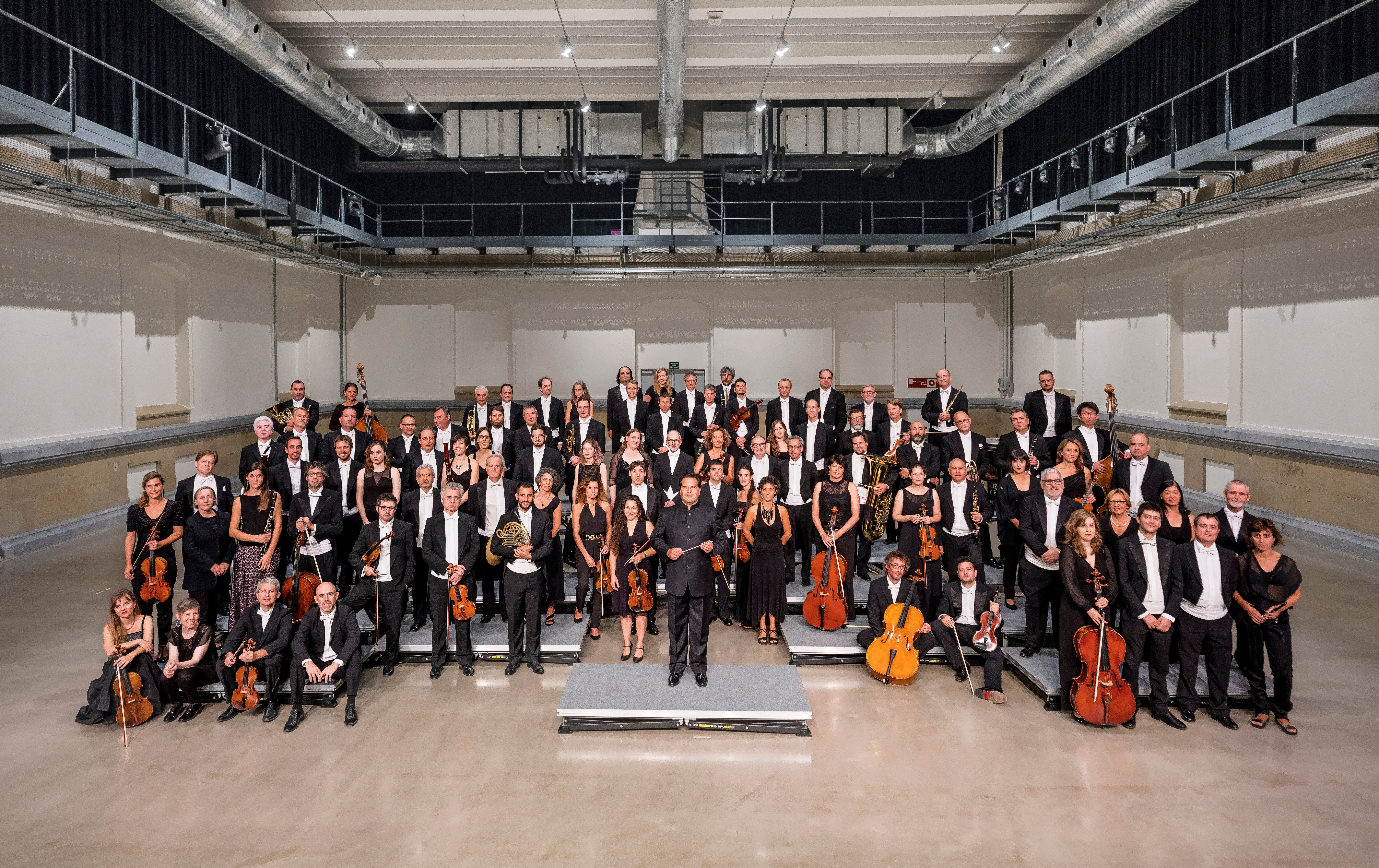 The Basque National Orchestra is one of the leading symphony orchestras in Spain. (Courtesy of CRR Concert Hall)