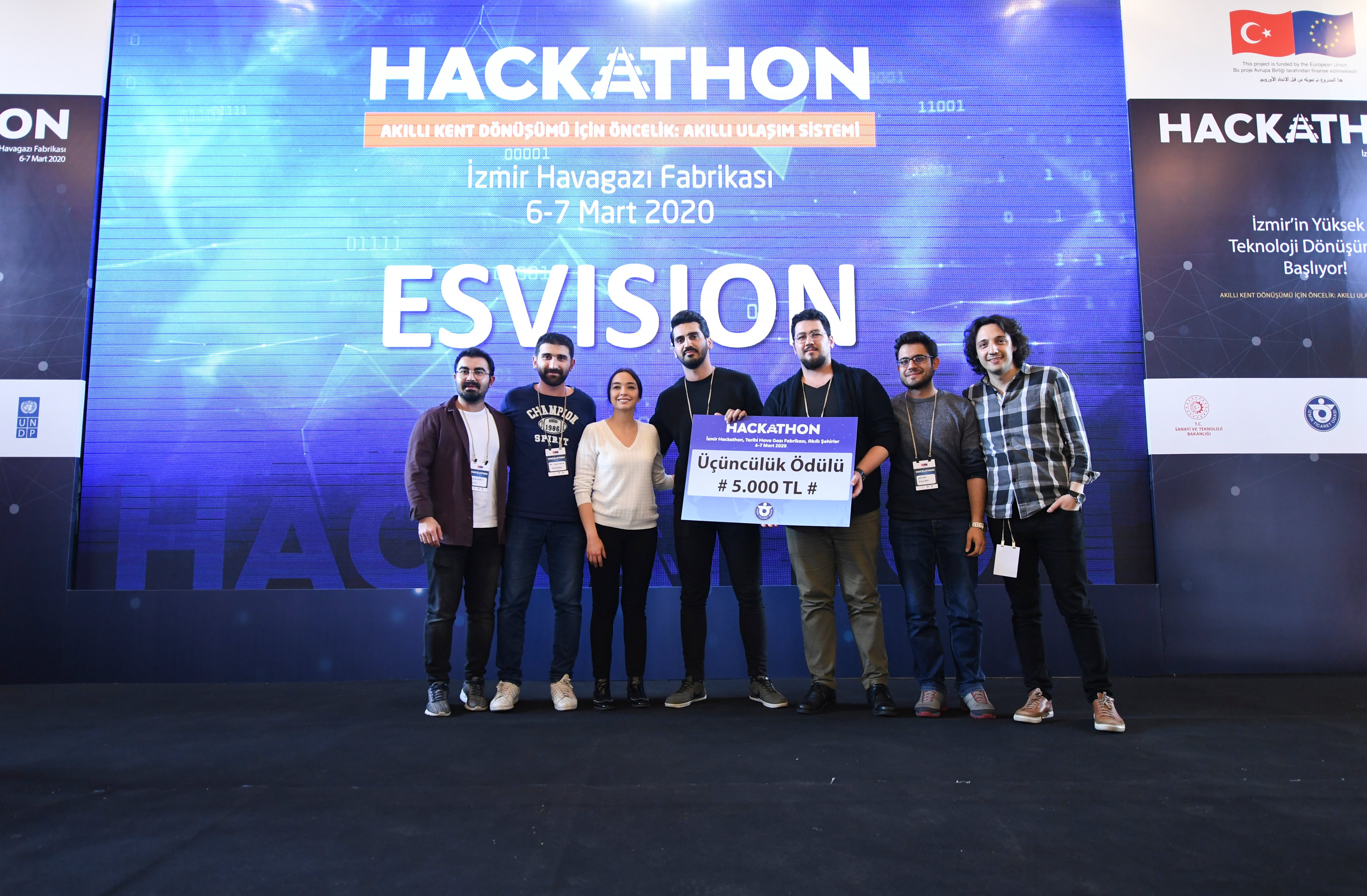 Esvision, a group of students from Eskişehir, came in third. (Courtesy of UNDP)