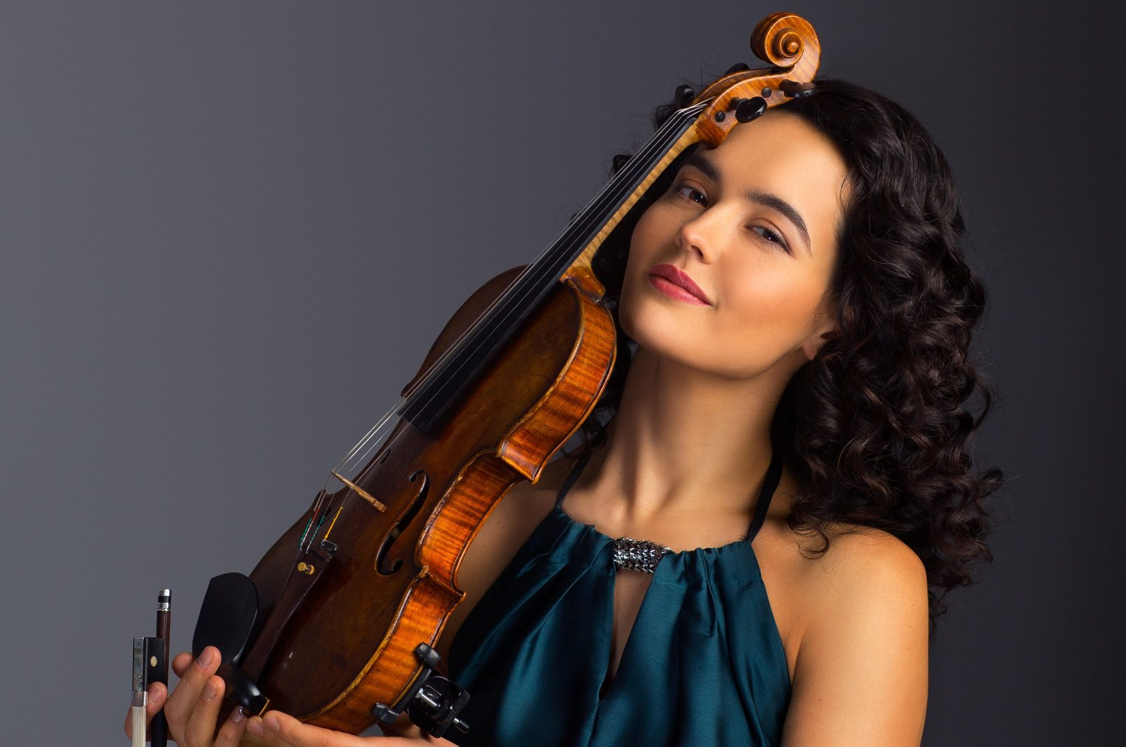 Alena Baeva has won Grand Prix in many international violin competitions to date. (Courtesy of CRR Concert Hall)