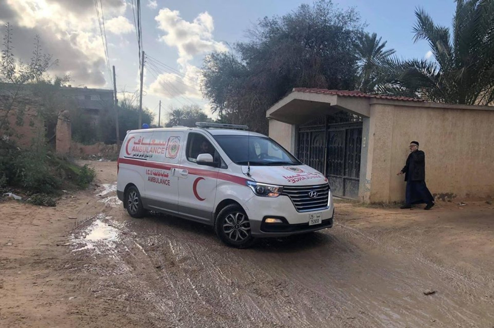 2 civilians died while four others were injured in attacks by forces loyal to Haftar in Libya, March 8, 2020 (IHA Photo)