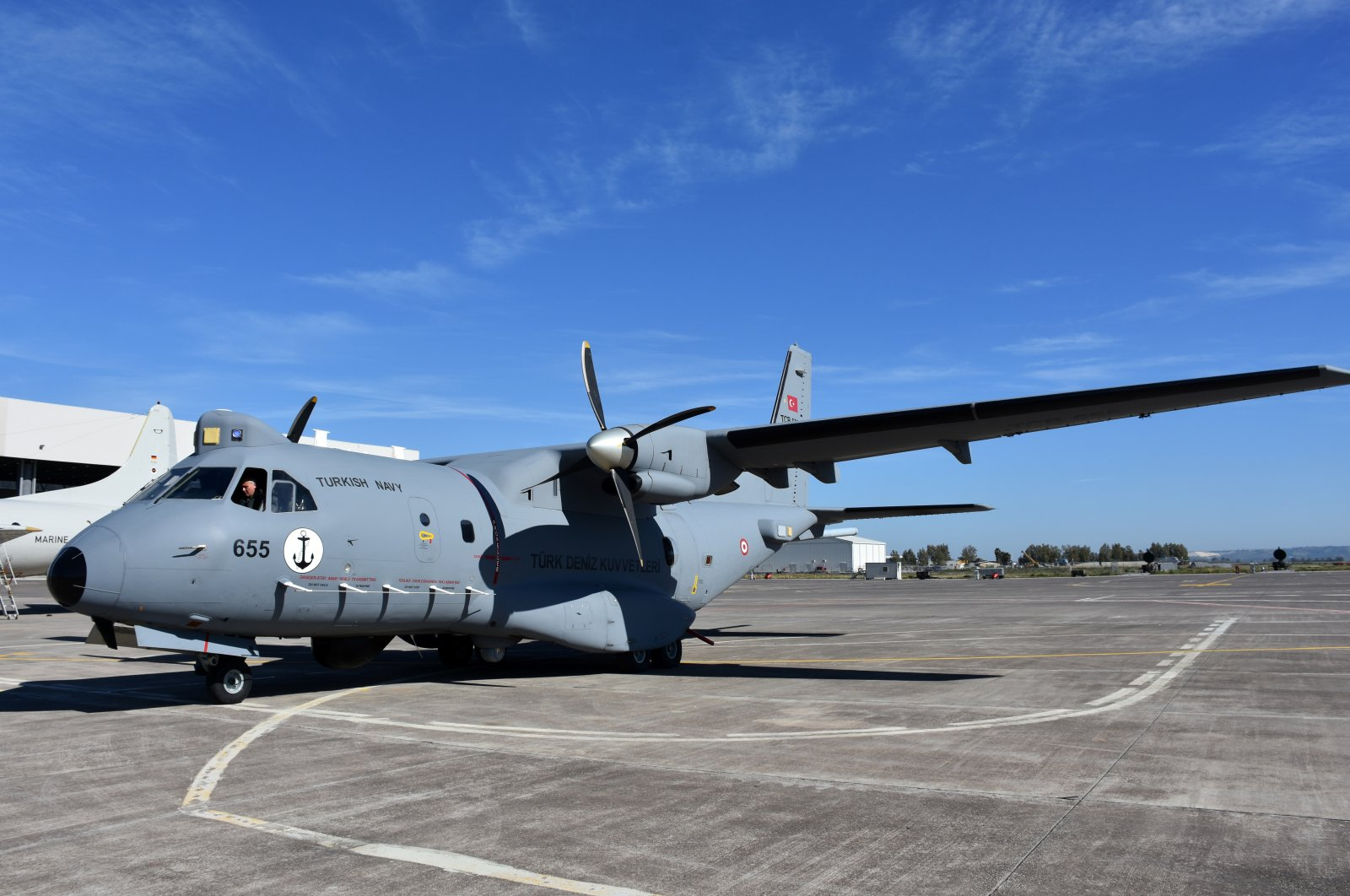 Turkey's maritime patrol aircraft participated in NATO drill. (AA Photo)