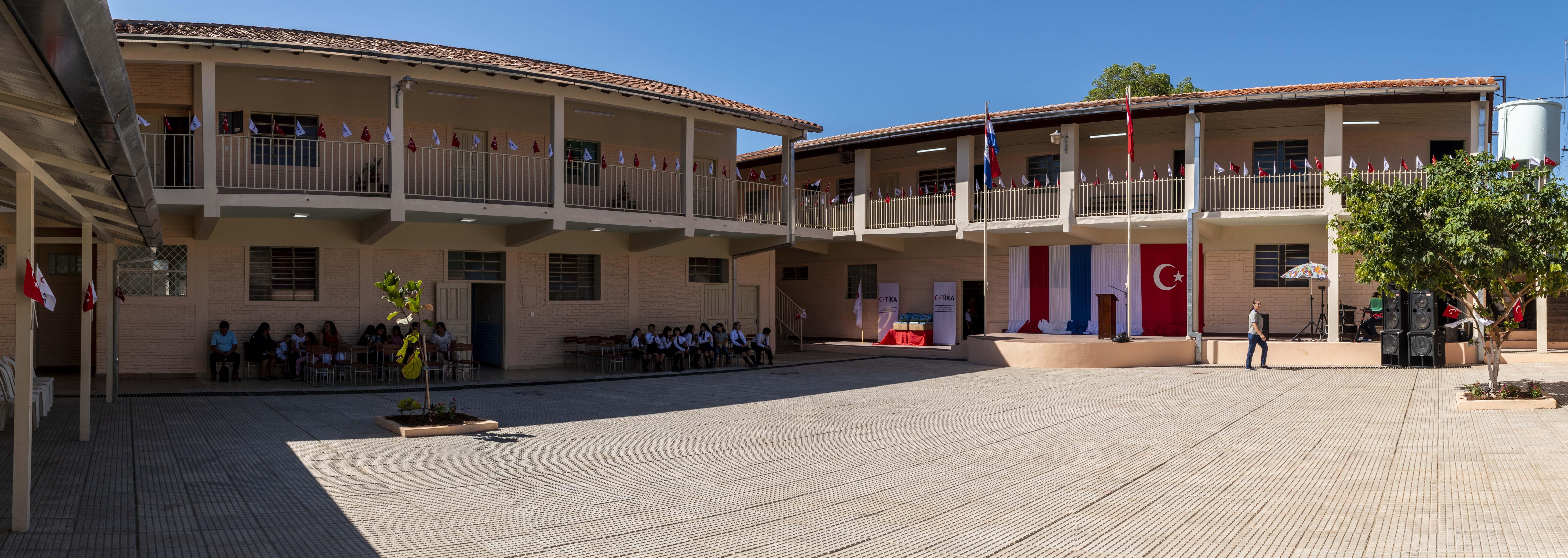Turkey's TİKA renovates school in Paraguay's Asuncion thumbnail