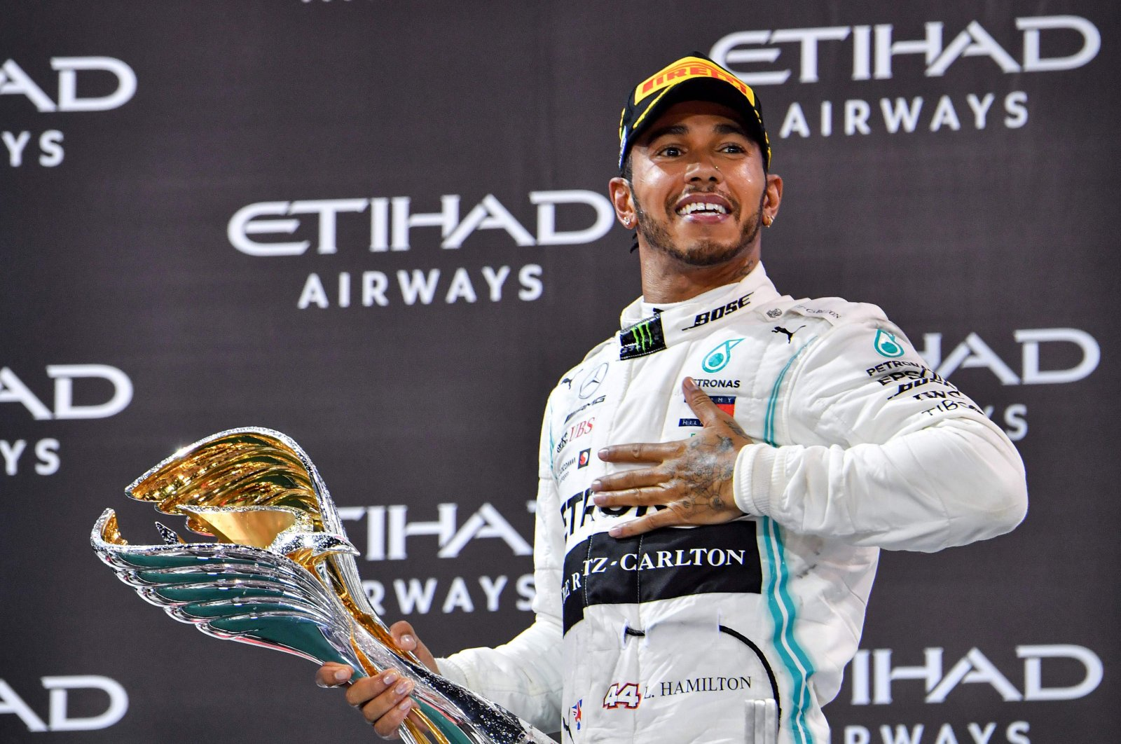 Despite taking every pole position at Albert Park Circuit since 2014, Hamilton won just once at Australian Grand Prix. (AFP Photo)