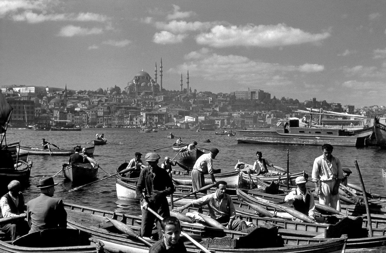 An Istanbul photo by İzzet Keribar. (Photo by Saffet Azak)