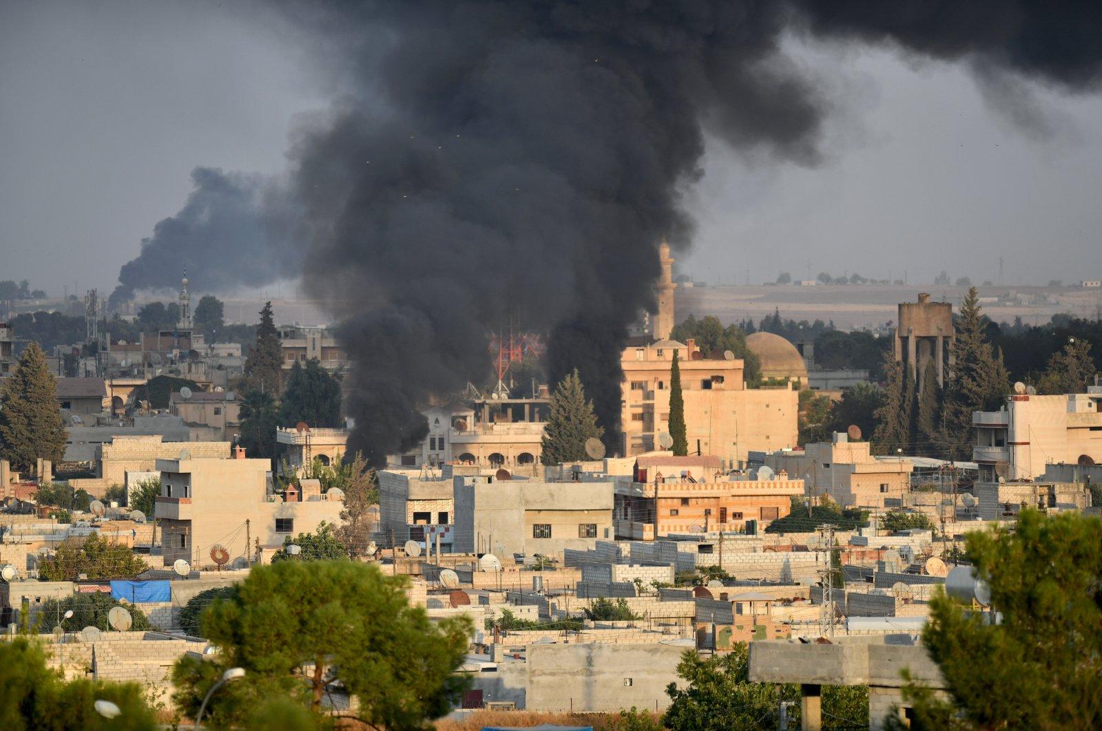 Syrian town of Ras al-Ayn (AA File Photo)