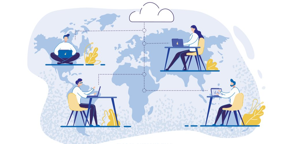 The number of remote employees is said to have increased by 140% in the last 15 years worldwide.