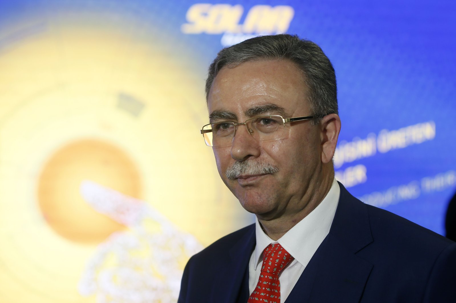 Ahmet Taşkın, the head of Kalyon Solar Energy Technologies Production Co. (AA Photo)