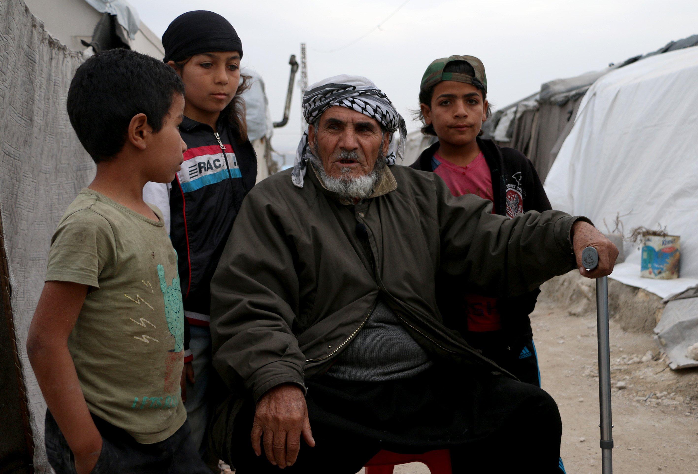 70-years-old Abu Naim. (AA)