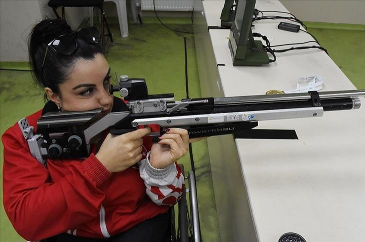Çağla Atakal aims for gold in the upcoming Tokyo Olympics in 2020. (AA Photo)