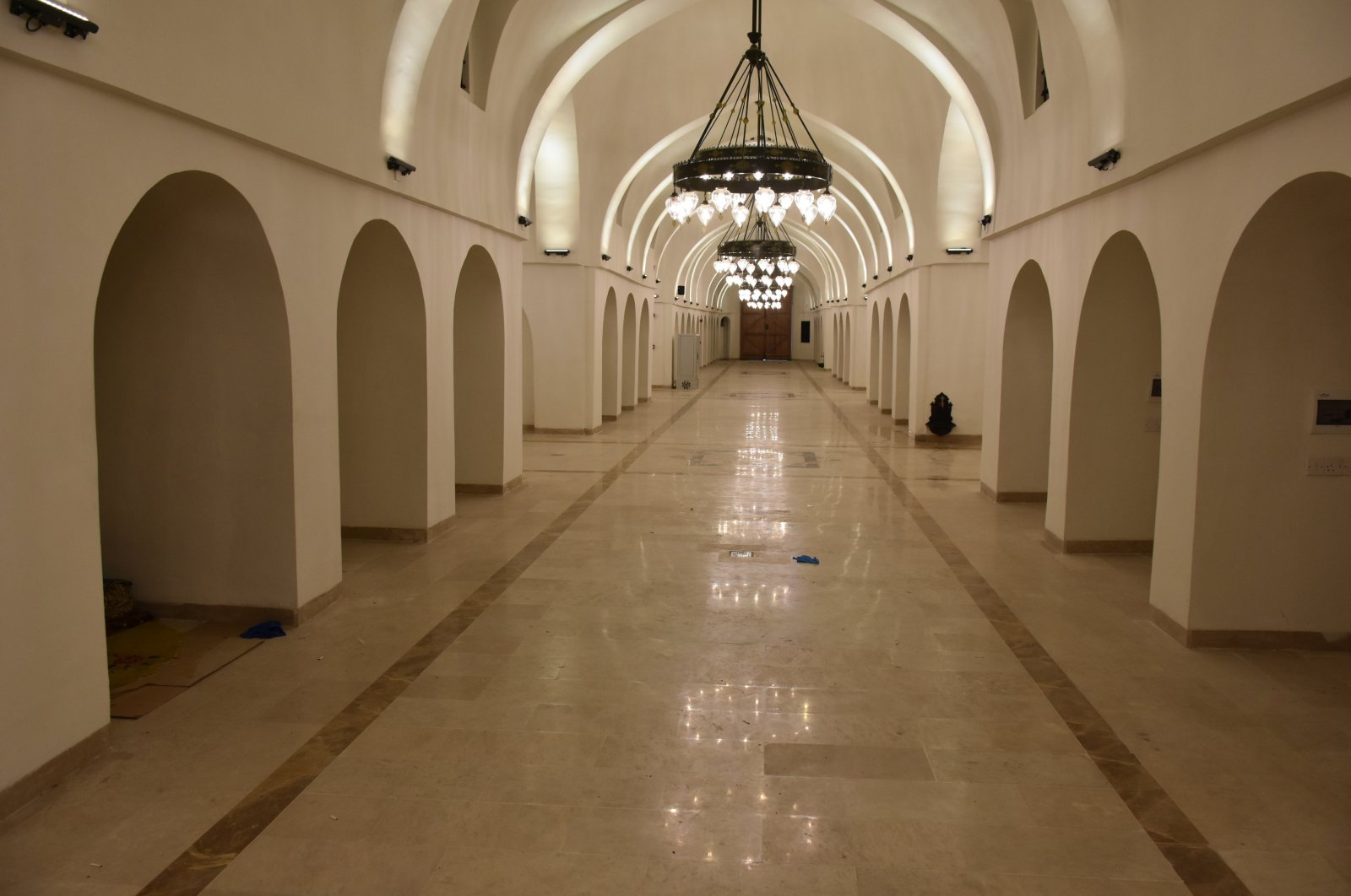 TİKA restored the bazaar to its former glory two years after the fire. (AA Photo)