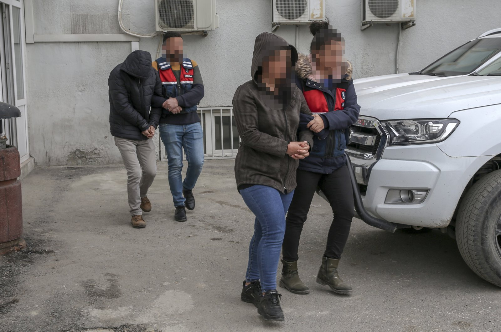 Captured terrorists, one of whom was a woman, were both members for more than 20 years and were revealed to be the personal bodyguards of Murat Karayılan, the PKK's acting leader, and Cemil Bayık, one of the masterminds behind some of the group's terrorist attacks, Monday, March 16, 2020. (AA)