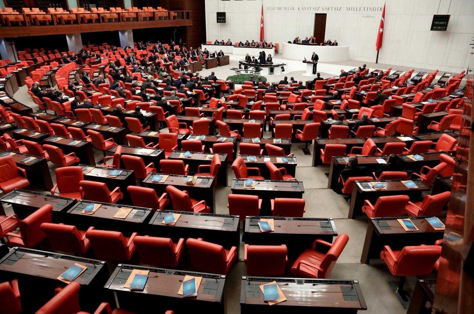 Turkish parliament has 600 parliamentarian seats. (Photo by Ali Ekeyılmaz)